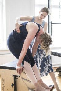 tränare och elev fysisk träning