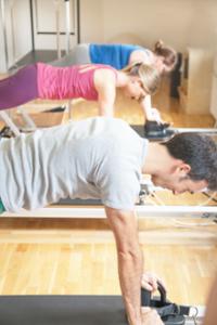 Pilates gruppträning