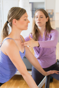 Pilates hands-on